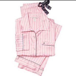 The Original Pink Stripe Victoria's Secret PJ Set